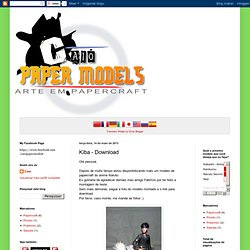 Caio Papermodels: Kiba - Download