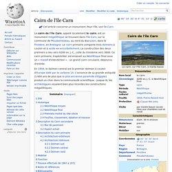 Cairn de l'île Carn