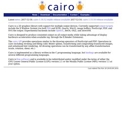 cairo - introduction