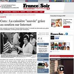 """Cora : La caissière """"sauvée"""" grâce au soutien sur Internet"""
