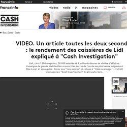 """VIDEO. Un article toutes les deux secondes : le rendement des caissières de Lidl expliqué à """"Cash Investigation"""""""