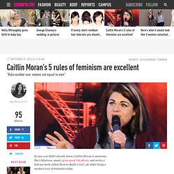 Caitlin Moran's 5 rules of feminism are excellent