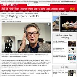 Serge Cajfinger quitte Paule Ka - 31/07/2014 - ladepeche.fr
