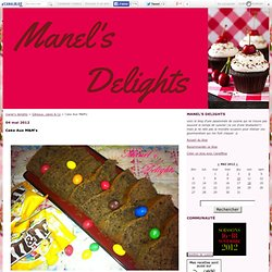 Cake Aux M&M's - manel's delights