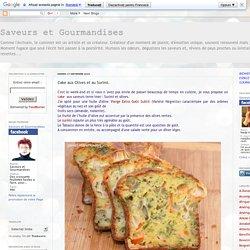 Cake aux Olives et au Surimi.