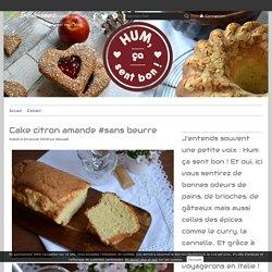 Cake citron amande #sans beurre