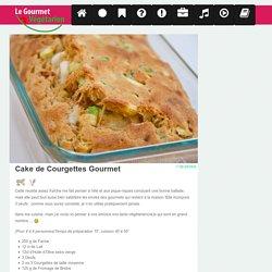 Cake de courgettes