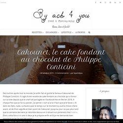 Cake fondant au chocolat - Cakounet