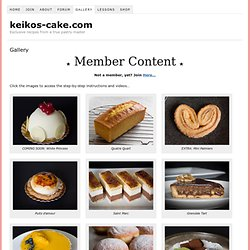 Cake Gallery | Pastry | Patisserie