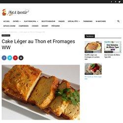 Cake Léger au Thon et Fromages WW