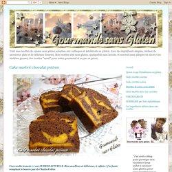 Gourmande sans gluten: Cake marbré chocolat potiron