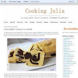 Cake marbré cuisson vapeur
