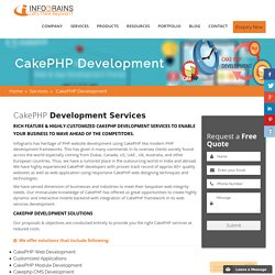 Cakephp Website Development Company In UAE And Australia