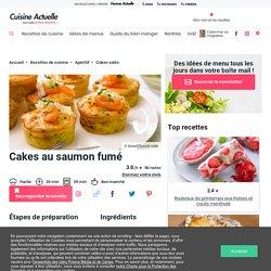 Cakes au saumon fumé facile