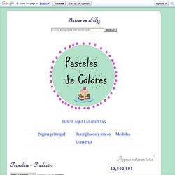 Zapallo o calabaza en almíbar con bicarbonato ~ Pasteles de colores