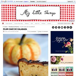 My Little Things: blog de recetas y cocina