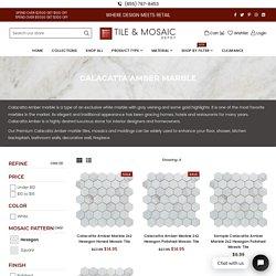 Calacatta Hexagon Mosaic
