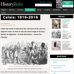 Calais: 1816-2016