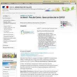 Le Nord - Pas-de-Calais : base arrière de la COP21