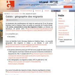 Calais : géographie des migrants
