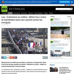 Les «Calaisiens en colère» défient leur maire et manifestent sans son accord contre les immigrés