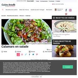 Calamars en salade facile