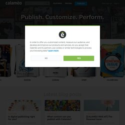 Calaméo – Publish and share documents