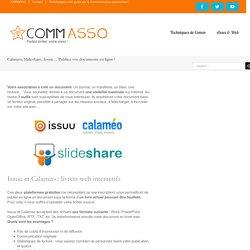 Calameo, Slideshare, Issuu... Publiez vos documents en ligne !