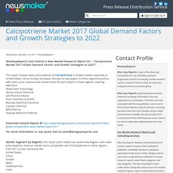 Calcipotriene Market 2017 Global Demand Factors and Growth Strategies to 2022