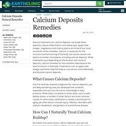 Calcium Deposits