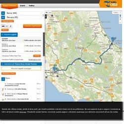 Calcola il percorso da Roma a Pescara
