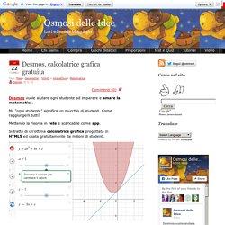 Desmos, calcolatrice grafica gratuita