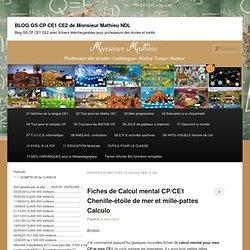 BLOG GS CP CE1 CE2 de Monsieur Mathieu NDL