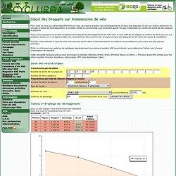 : Calcul des developpements d'un velo