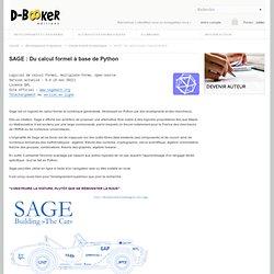 SAGE : Du calcul formel à base de Python
