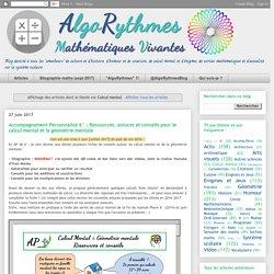 AlgoRythmes: Calcul mental