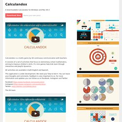 Calculandox by OXEducation