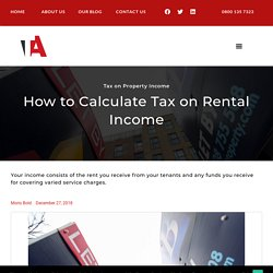 How to Calculate Tax on Rental Income