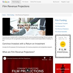 How to Calculate Film Revenue Projections