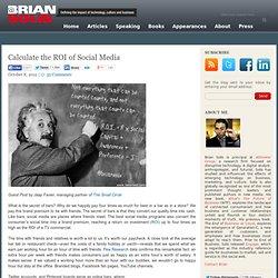 Calculate the ROI of Social Media