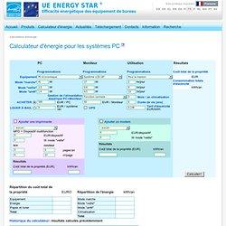 Calculateur d'énergie