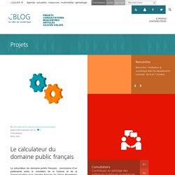 Le calculateur du domaine public français - C/blog