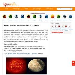 Lagna Calculator, Lagna Kundali Chart- AstroVidhi