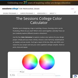 Color Wheel - Color Calculator
