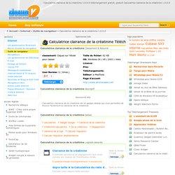 Calculatrice clairance de la créatinine tlchargement gratuit, tlchargement sur Calculatrice clairance de la créatinine tlchargement de logiciels