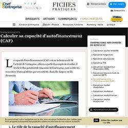 Calculer sa capacité d'autofinancement (CAF)