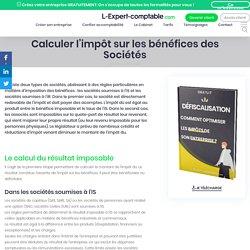 L'impôt des bénéfices des Sociétés (Expert comptable)