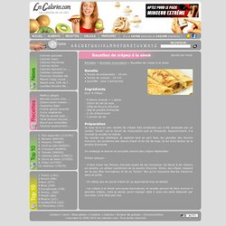 Calculez les calories facilement et decouvrez la valeur nutritive des aliments