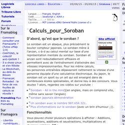 Calculs_pour_Soroban - Éducation - Logiciels Libres