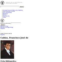 Caldas, Francisco José de